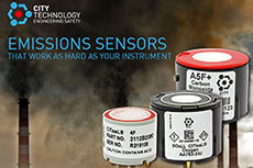 City Technology extends range with new gas sensors