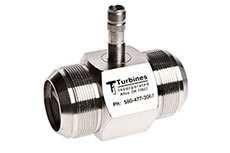 Turbines Inc. product news: cyrogenic turbine flowmeter