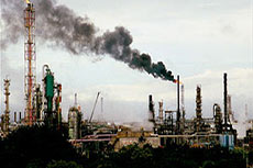 Greenhouse gas emissions in Washington state refineries
