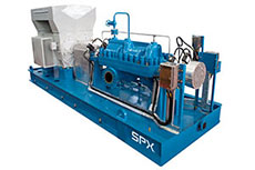 SPX introduces its improved multi stage pump