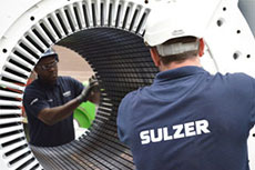 Sulzer advises on motors and generators