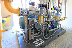 Atlas Copco compressors for biogas supply plant