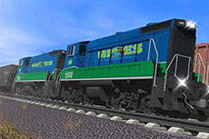 New natural gas powered locomotives