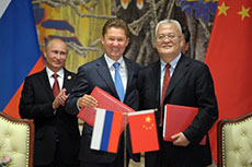 Russia and China sign 30-year gas deal