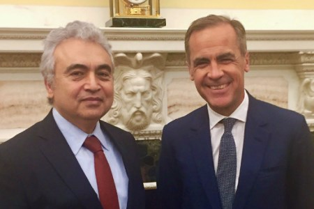 IEA and Bank of England discuss orderly energy transition
