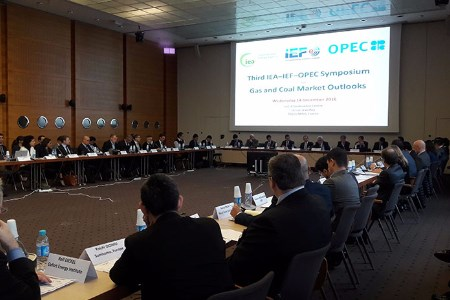 IEA, IEF and OPEC hold symposium on gas and coal market outlooks