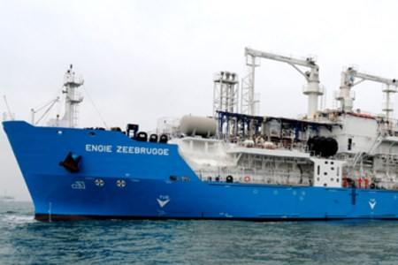 LNG bunkering vessel delivered to ENGIE