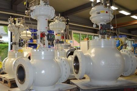 Arca Regler delivers five anti-surge valves to Mexico