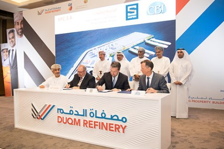 Duqm Refinery awards EPC contracts