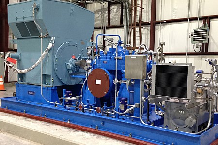 Sulzer completes key pump project