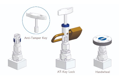 AS-Schneider anti-tamper valve head units protect valves against unauthorised access