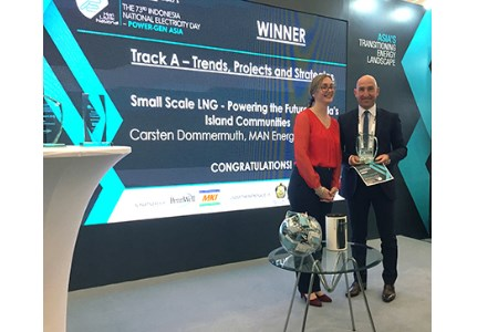 Small-Scale LNG Paper wins award at Power-Gen Asia