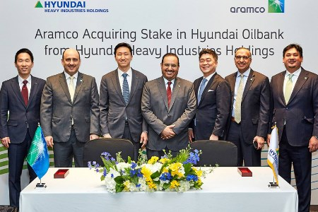 Aramco purchases stake in Hyundai Oilbank, South Korea