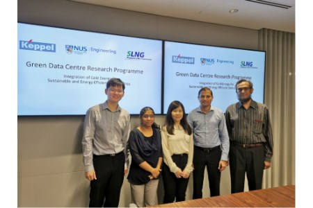 NUS, Keppel and SLNG to develop energy-efficient cooling technology for data centres